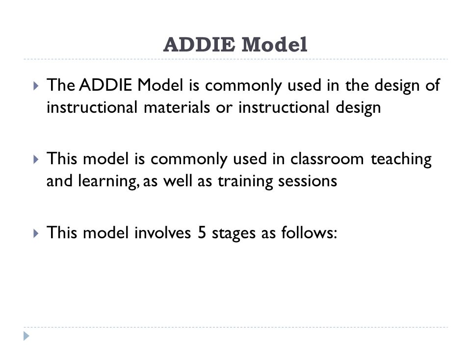 Classroom Oriented Instructional Design Models ~ Instructional materials principles design utilization