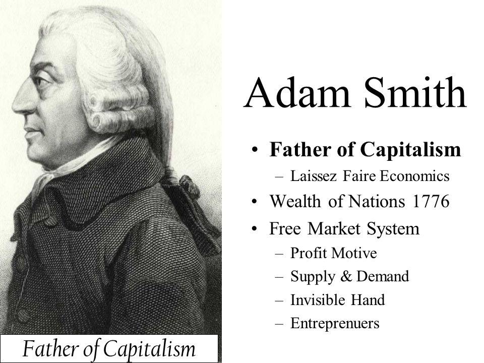 Adam smith father of economics essay