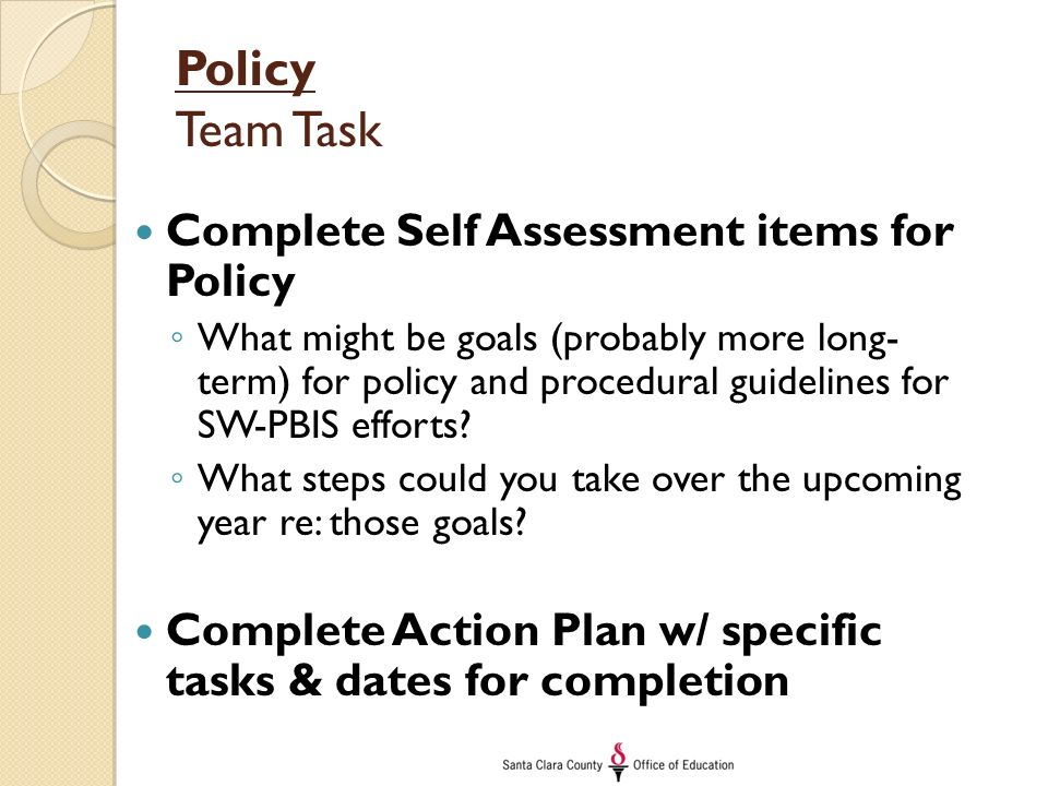 ways to complete tasks and achieve team goal Teams are used to accomplish tasks that are too large or complex to be done by  an  collaborate on sets of related tasks that are required to achieve an objective   an effective team accomplishes its goals in a way that meets the standards.