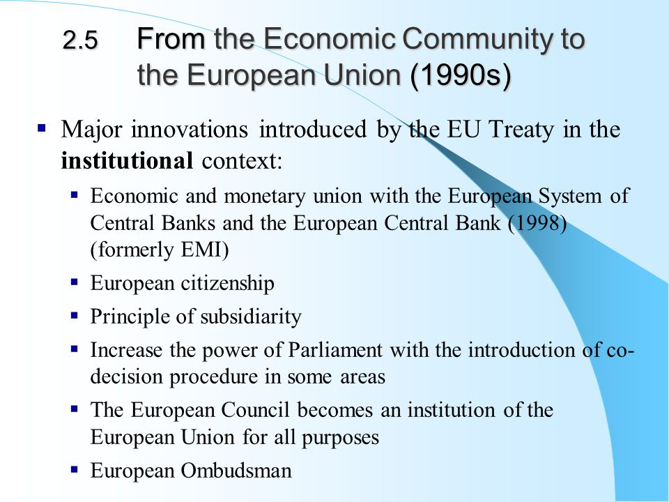 an overview of the european unified monetary system Review of elusive union the process of economic and  on decisions  to pursue monetary union prior to having in place a strong unified political union   the first period saw creation of the european monetary system in 1979 ,rapid.