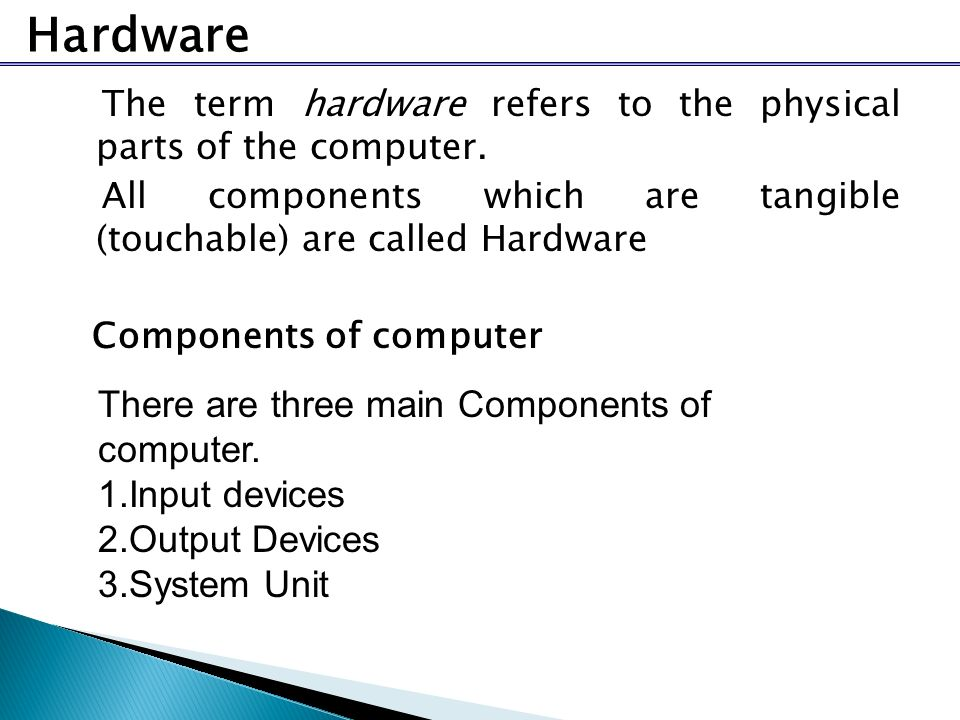an introduction to the major components of a desktop microcomputer Introduction know the major functions of  microprocessor technology hoever wmeans that today's desktop microcomputer will easily have.