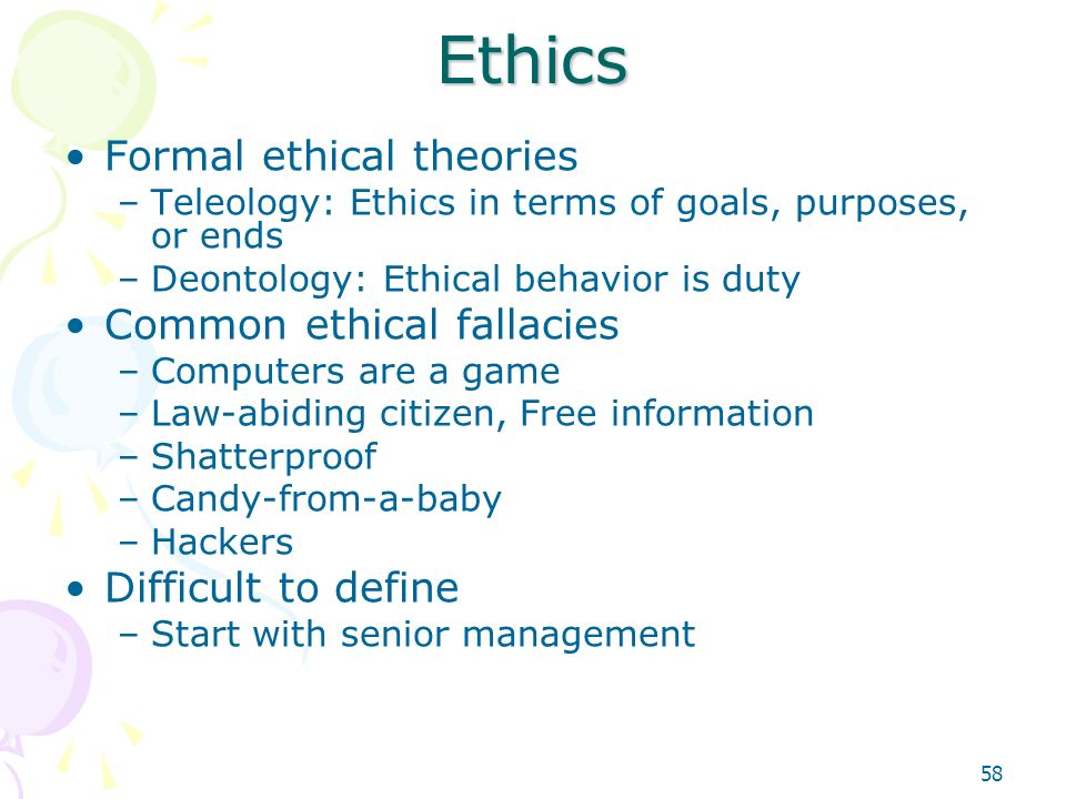 Ethical concepts and the common good