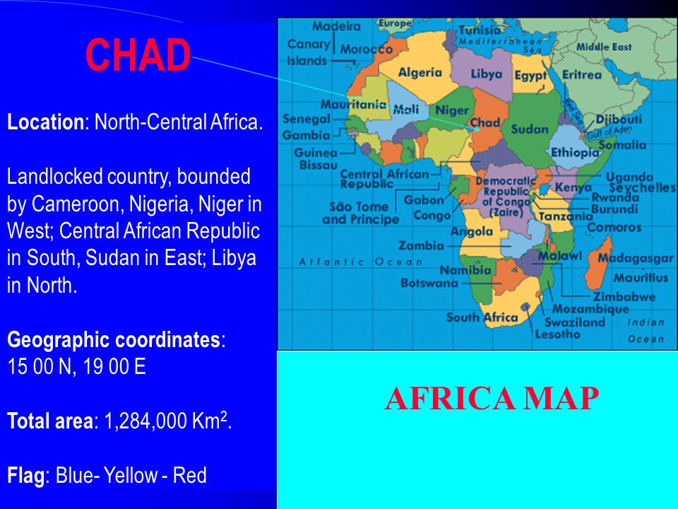 REPUBLIC OF CHAD WELCOME TO CHAD ppt video online download
