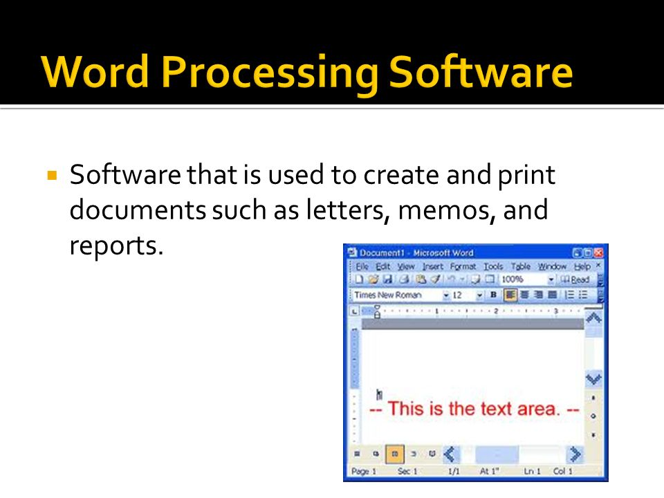 introduction to word processing pdf