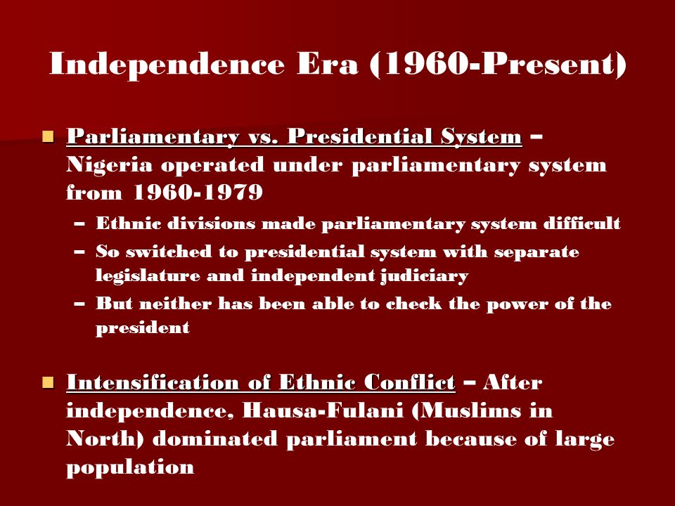 the american presidential system vs. the canadian parliamentary system essay The main difference between a parliamentary and presidential system of government is that in a presidential system, the president is separate from the legislative body, but in a parliamentary system, the chief executive, such as a prime minister, is part of the legislative body, or parliament.