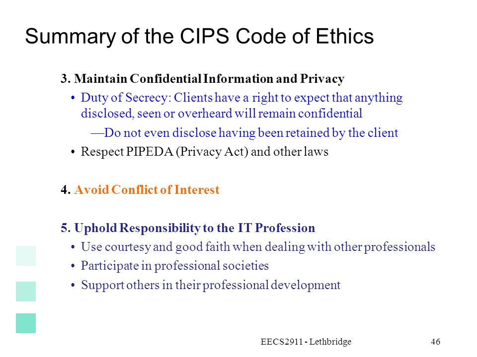 cips code of ethics pdf