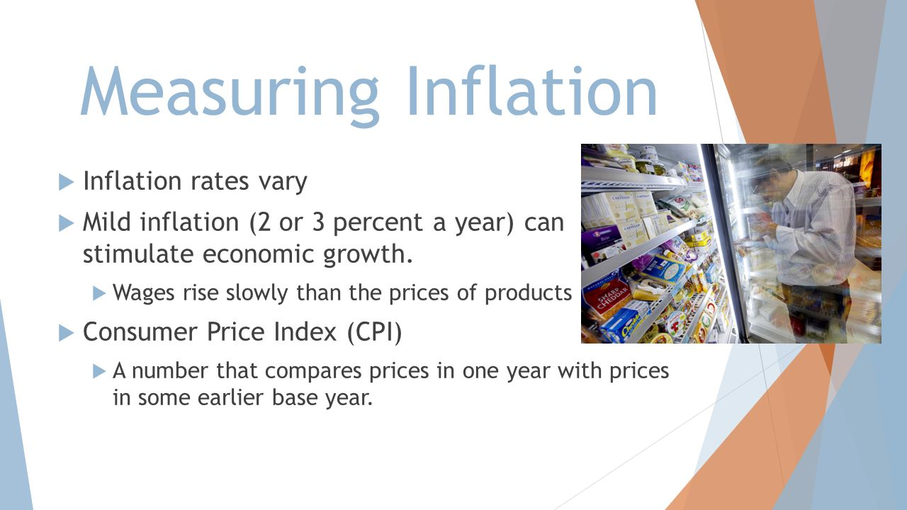 Measuring Inflation Inflation rates vary