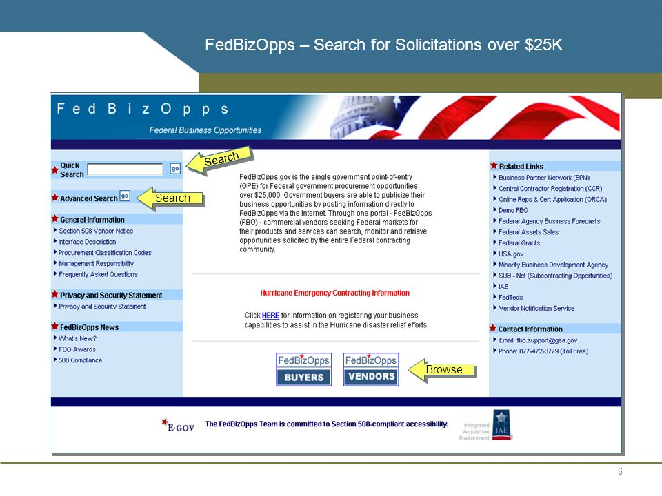 Federal Business Opportunities Fbo Fedbizopps Ppt Download