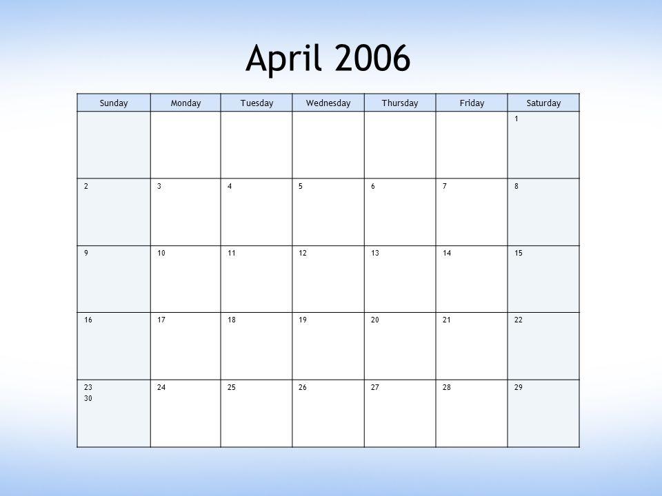 April 13 2006 Circuitmaster