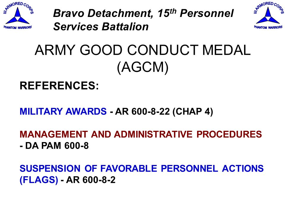 army good conduct medal certificate template - s1 certification course ppt download