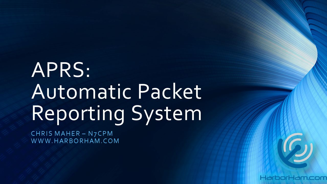 APRS: Automatic Packet Reporting System