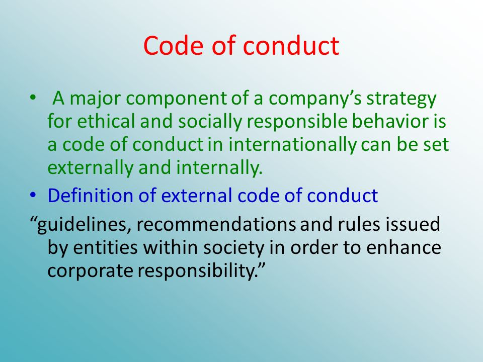 the code that defines an individual and a society The chilean code therefore is a judicial code that that defines the librarian's duties and rights in law discussion the idea to develop a code of ethics was conceived at the tla 1976 annual conference.