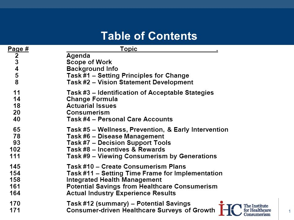 Table of contents page topic 2 agenda 3 scope of work for Table 6 2 specification for highway works