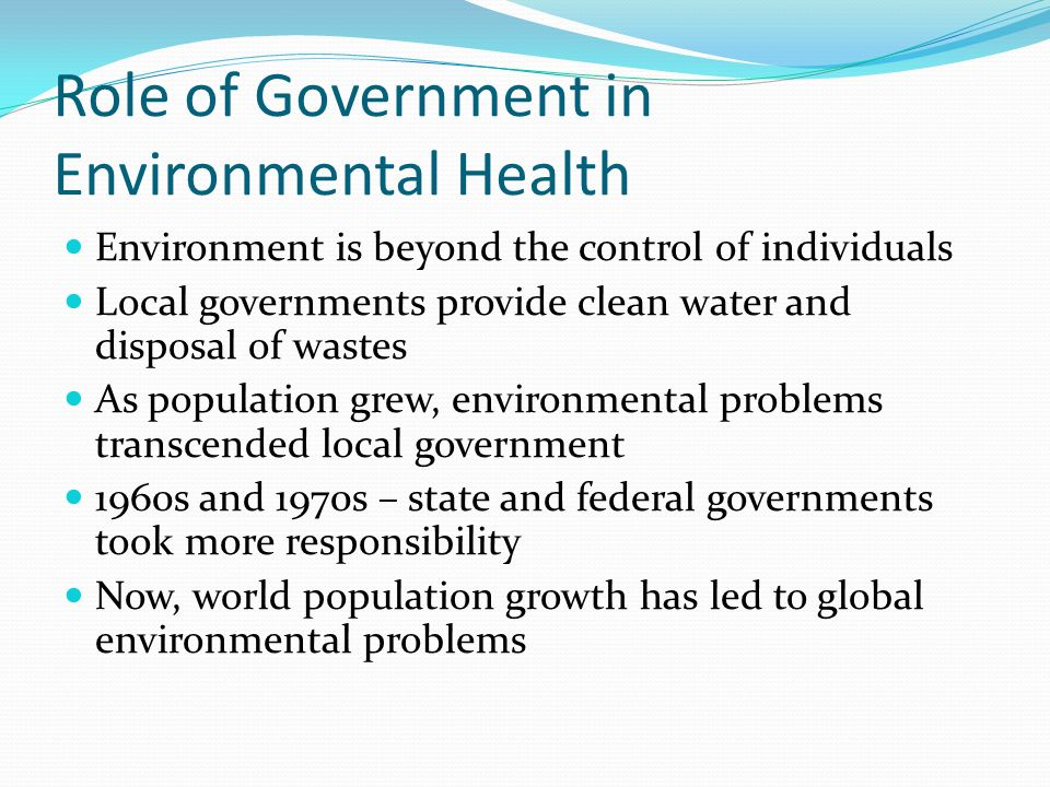 what are the environmental health issues Occupational and environmental health issues of solid waste management special emphasis on middle- and lower-income countries sandra cointreau.