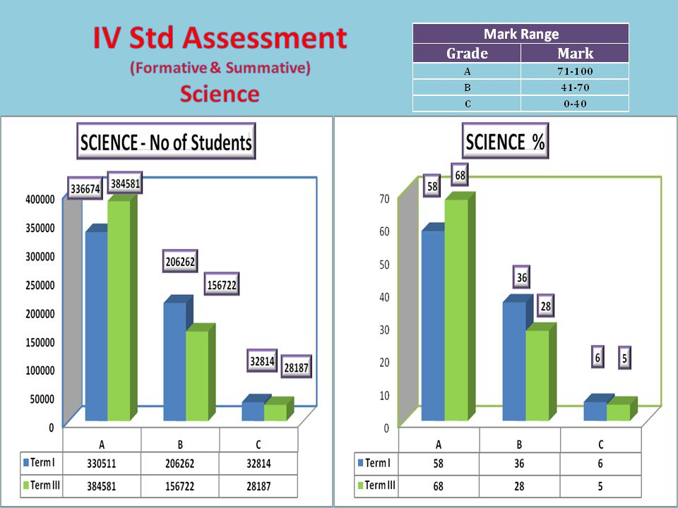 IV Std Assessment (Formative & Summative) Science