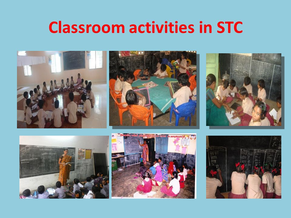 Classroom activities in STC