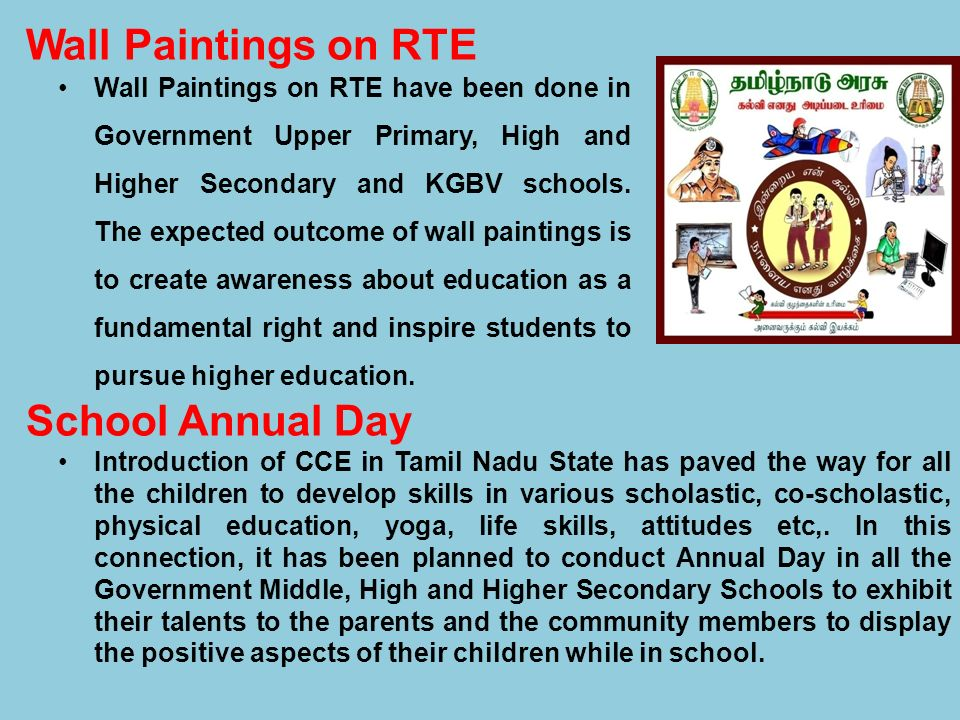 Wall Paintings on RTE School Annual Day