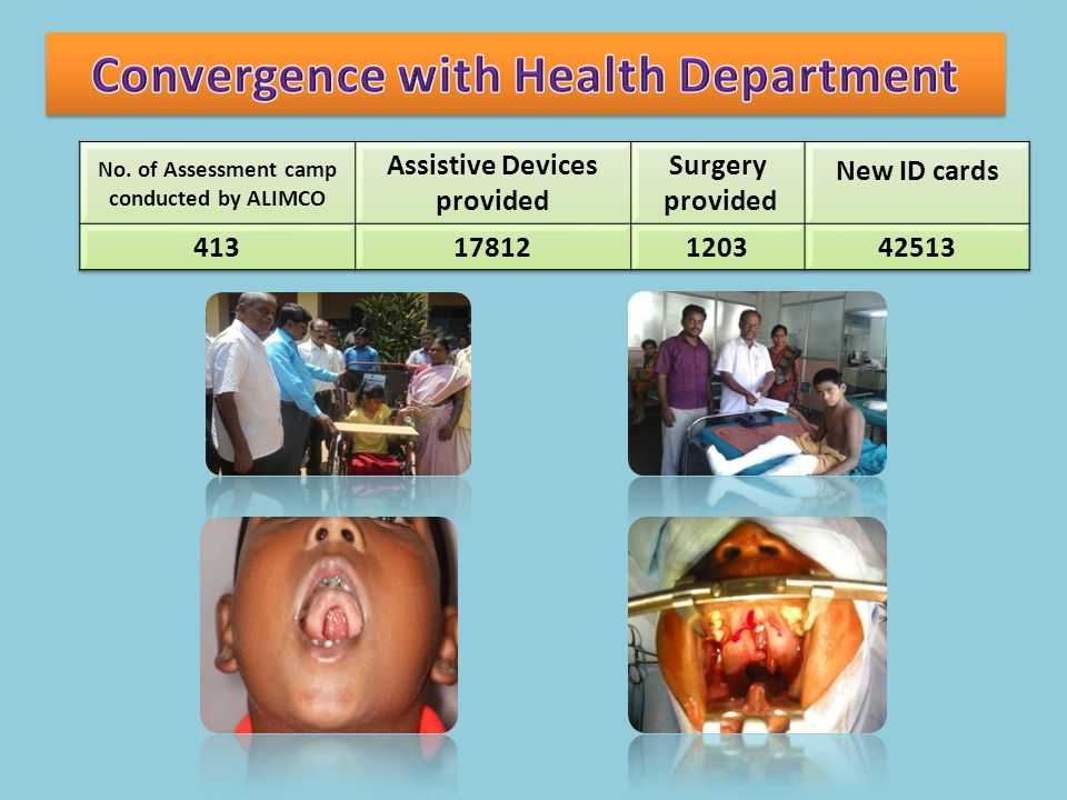 Convergence with Health Department