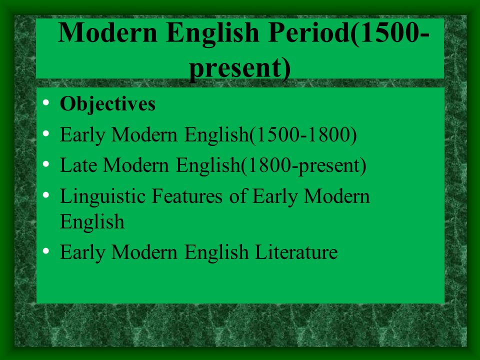 modernism in english literature Understanding the context of literary modernism  understanding the context of modernist  sensibilities evident in the art and literature of the post.