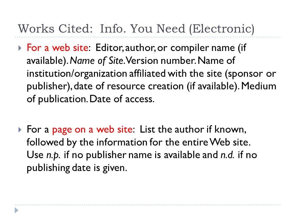 mla formatting spx required