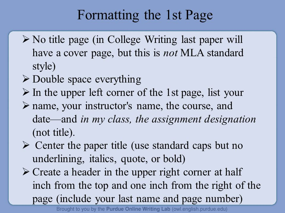 essay titles underline Welcome to purdue owl engagement purdue owl writing lab owl news italicize the titles of magazines, books and underline words where italics are needed 1.