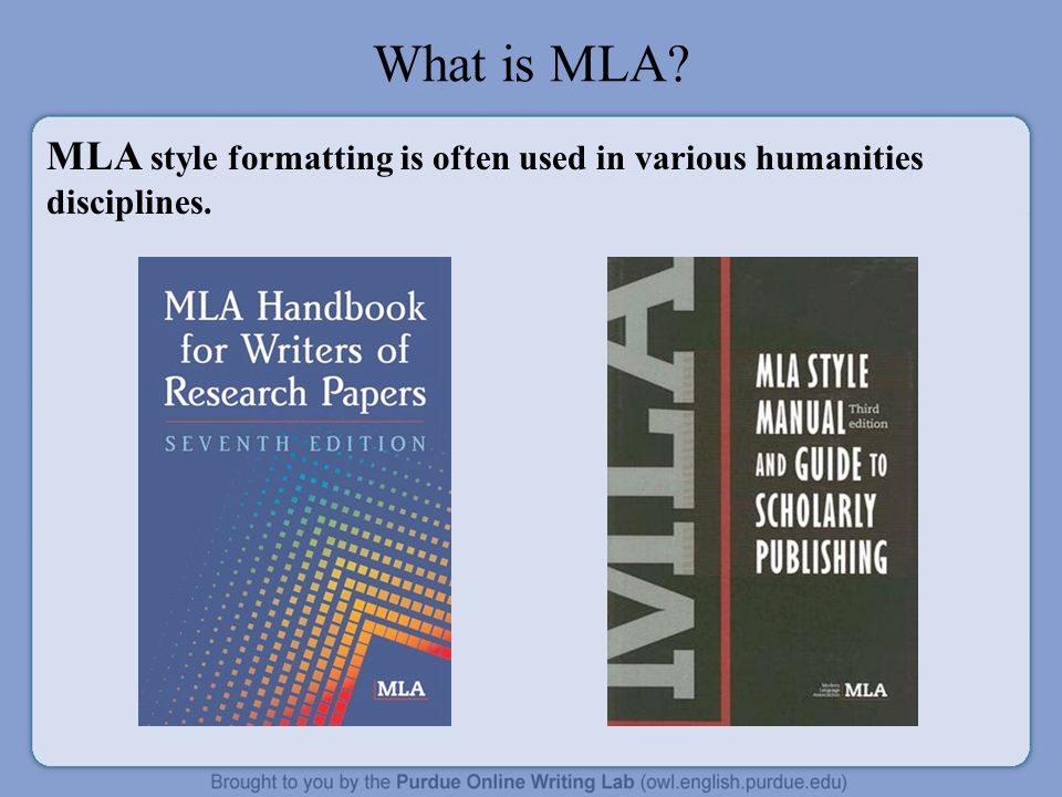 Mla handbook for writers of research papers 7th ed. (2009)