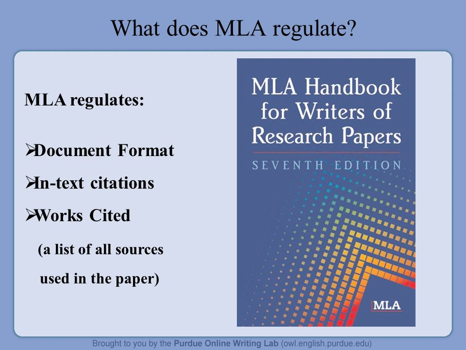writing research papers using mla documentation