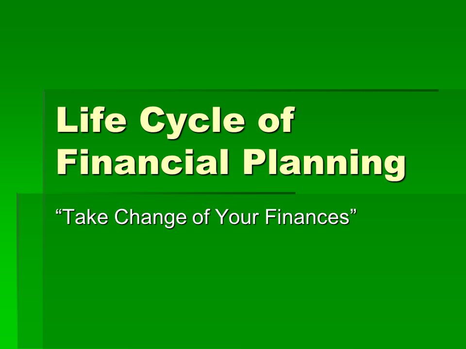 life cycle financial planning View ted bernstein's profile on linkedin my column in the tribune covers life cycle financial planning issues including retirement planning.