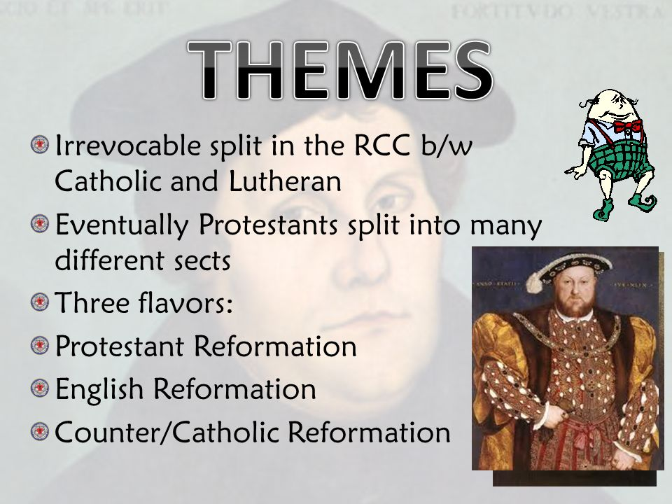 Introduction to the Protestant Reformation: The Counter-Reformation