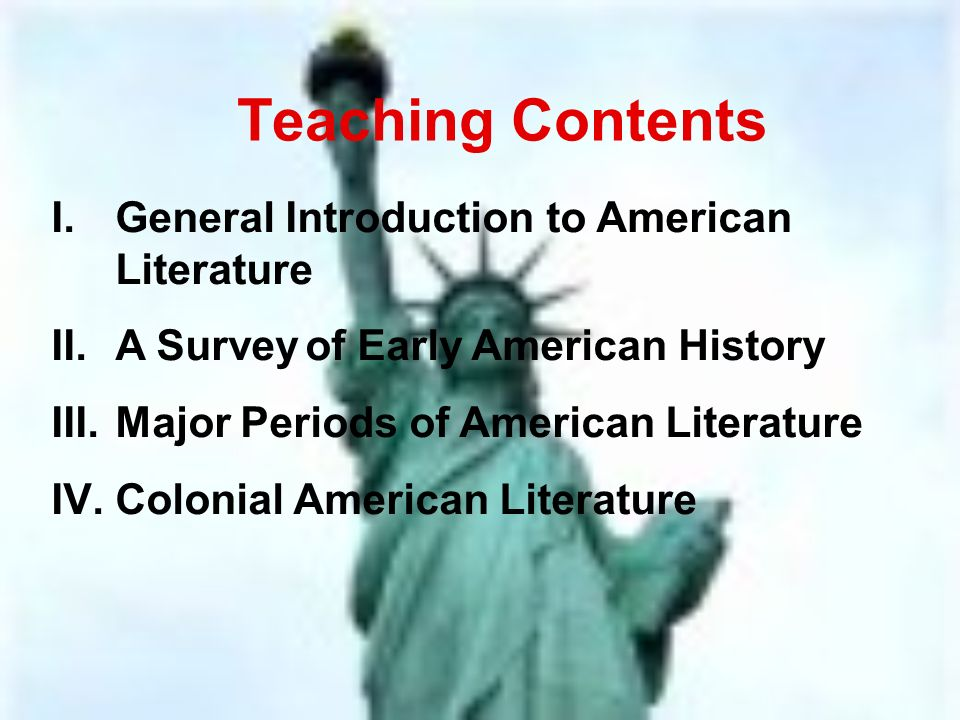 an introduction to the major american writers This lesson helps you decipher pieces of contemporary american literature by  looking at famous examples from some of the greatest authors of the time.