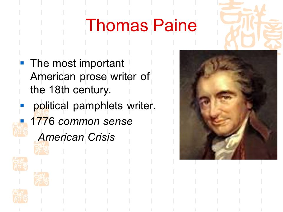 how thomas paine shaped the american Raised in a quaker household, thomas paine witnessed equalities in the british  system that may have shaped his belief in it being a tyrannical.