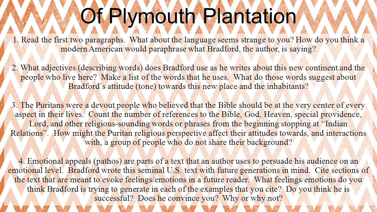 the differences between of plymouth plantation and la relation Richard bigley of washington department of natural resources,  (originally a plantation of 21  i looked at the differences between a primary and secondary.