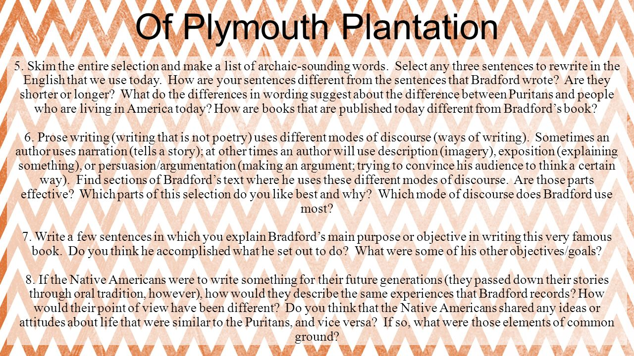 of plymouth plantation ppt  of plymouth plantation