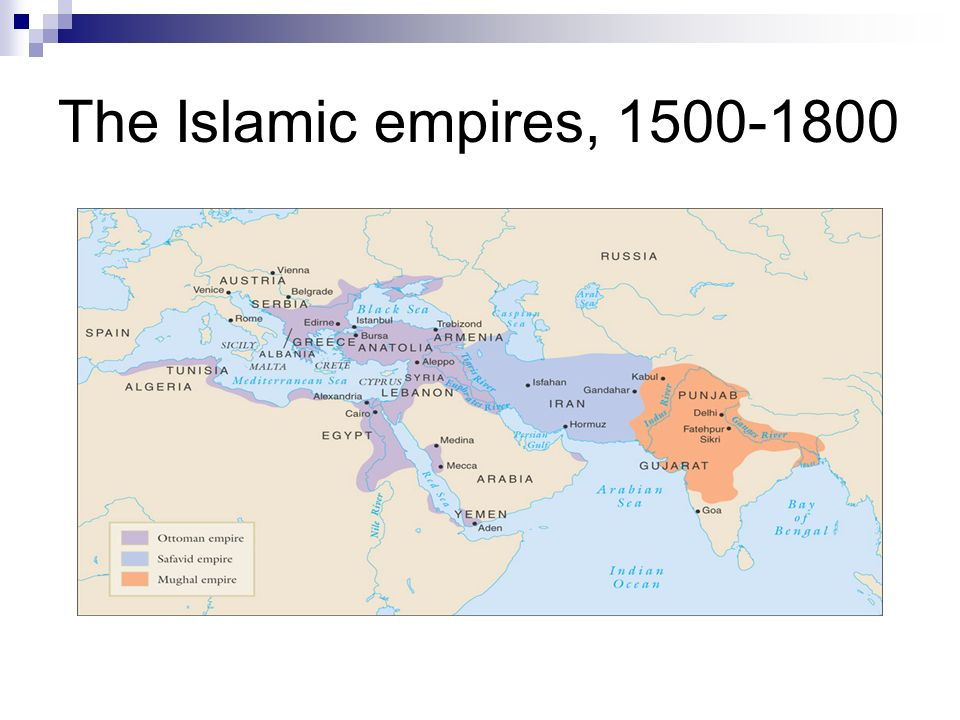 three islamic empires At the dawn of the modern era, three empires in asia established and maintained themselves thanks to their advantage in firearms and artillery safavid history is rife with clashes and wars between the shi'a muslim safavid persians and the sunni ottoman turks early on, the safavids were at a.
