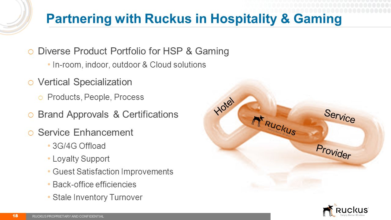 Hospitality primer ted watson ppt video online download partnering with ruckus in hospitality gaming xflitez Choice Image