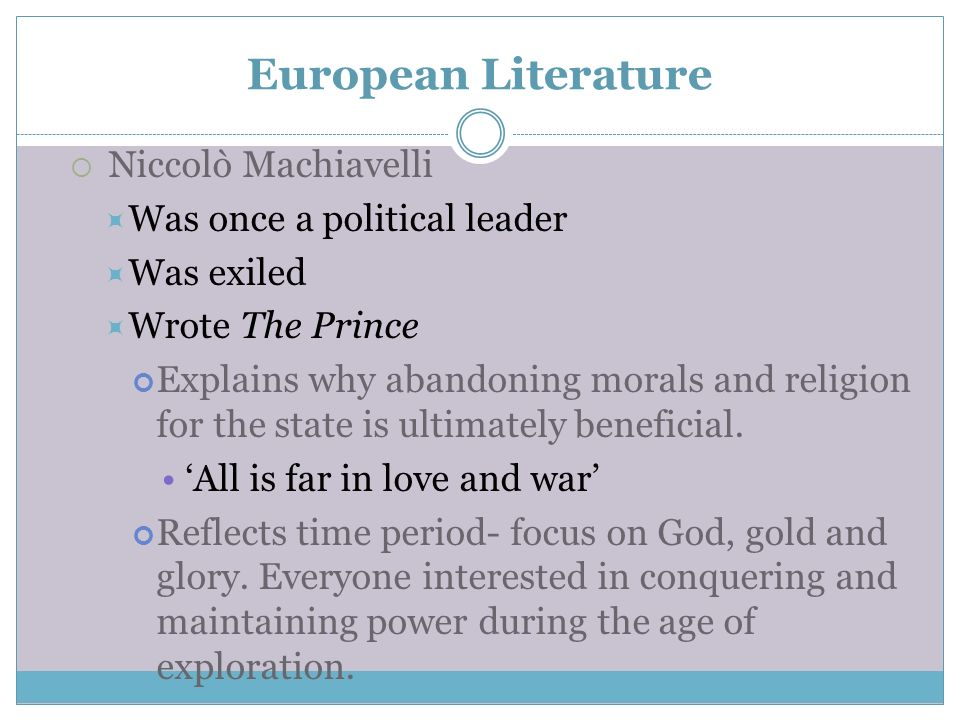 Niccol machiavellis acquisition of power essay