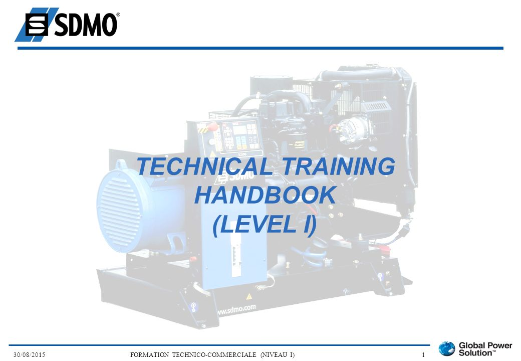 TECHNICAL TRAINING HANDBOOK