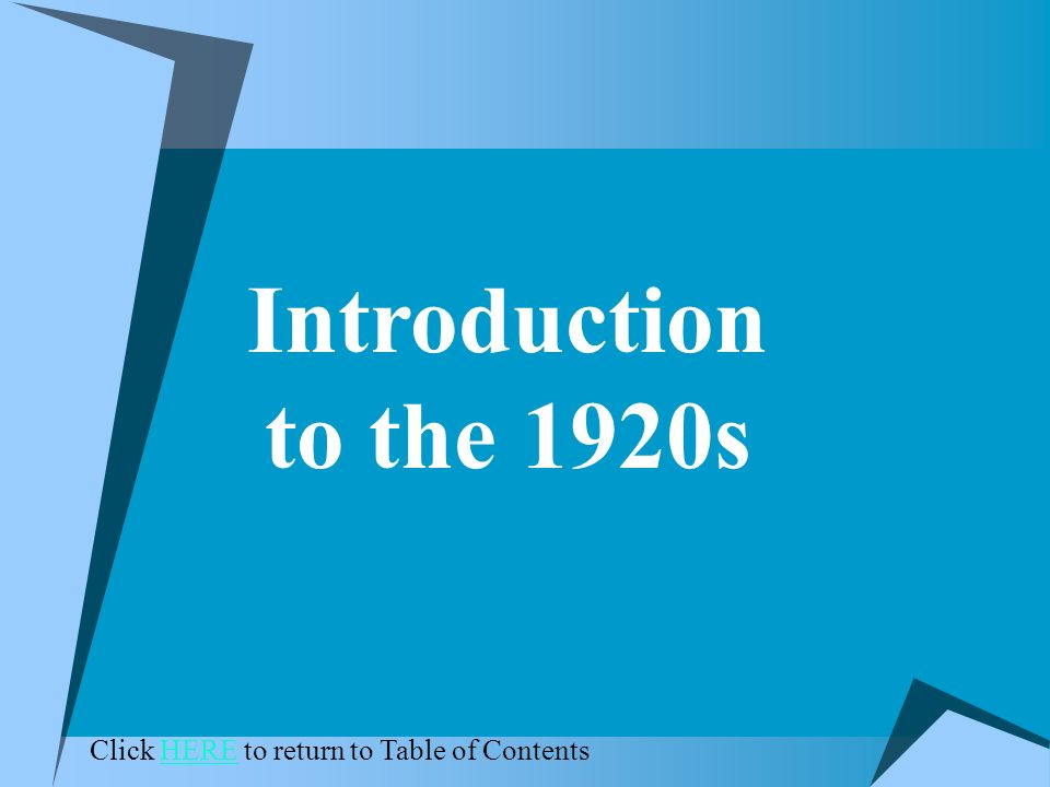 1920s powerpoint theme