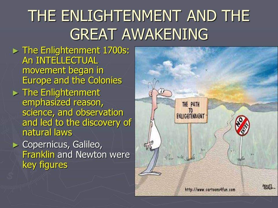 the enlightenment and the great awakening essay The great awakening vs the enlightenment the great awakening the great awakening was a religious revival that swept through the american colonies in the 1730s and 1740s.