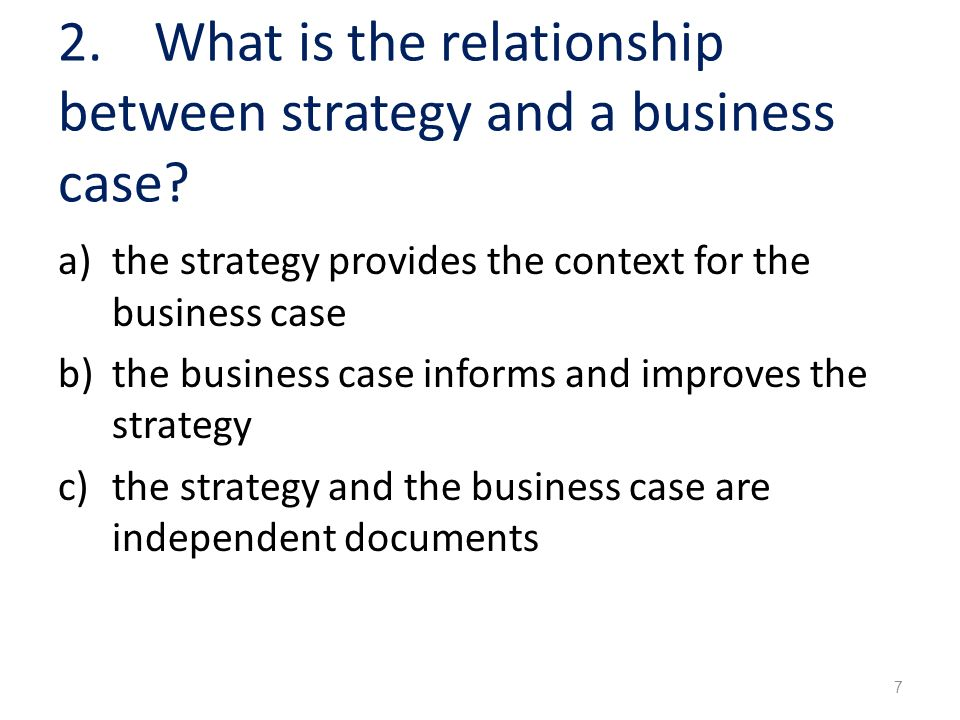the relationship between business strategy and The relationship between the business strategy and it strategy isdirect with the it strategy being subordinate.