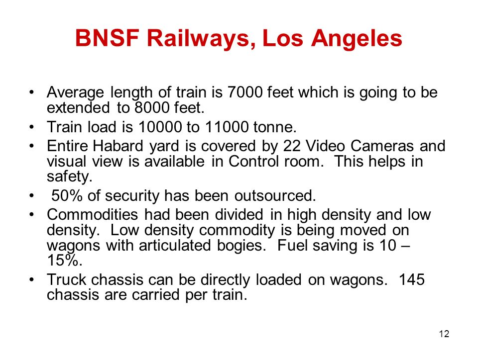 Bnsf Study Guide