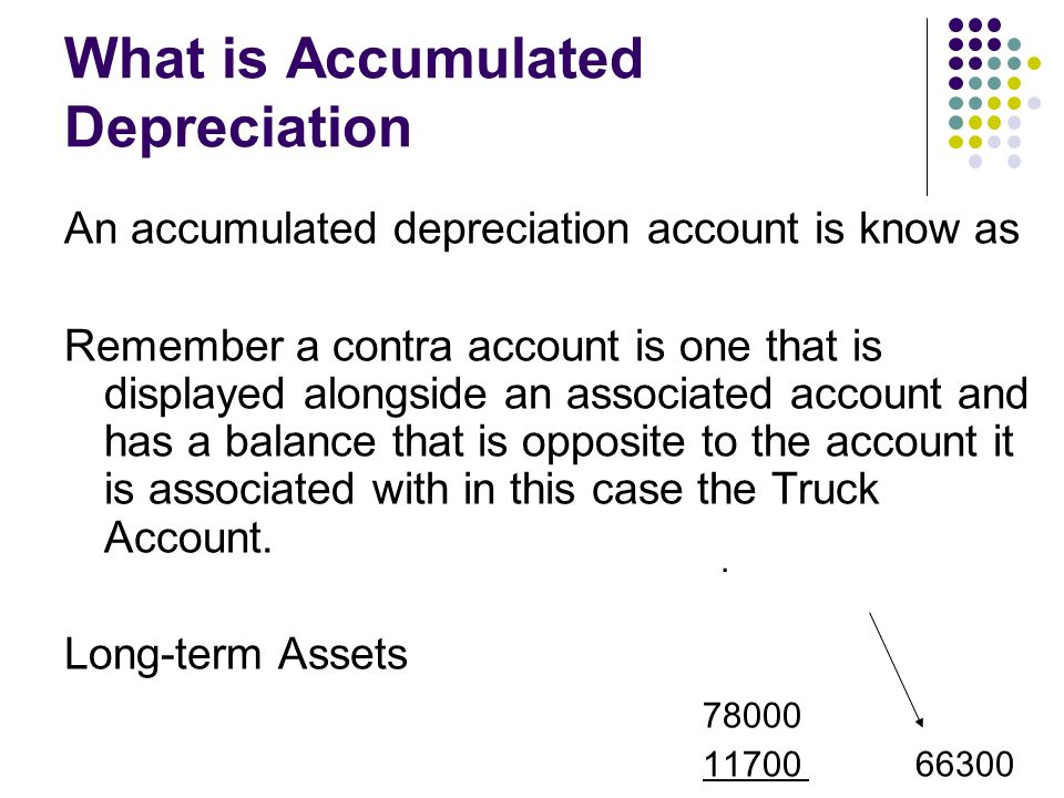 chapter 8 4  u2013 adjusting for depreciation