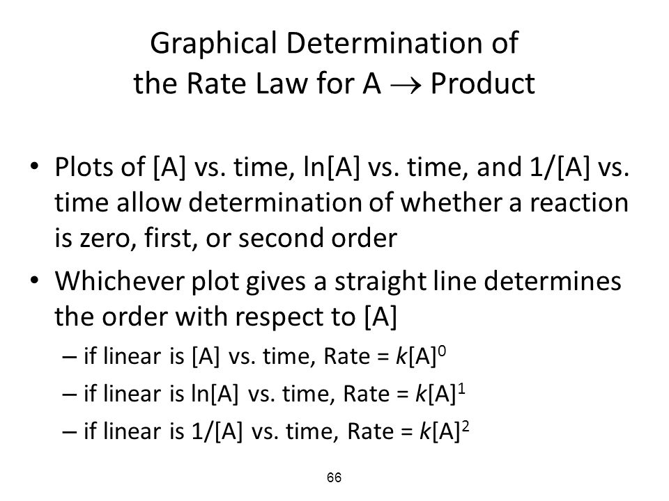 determination of rate law The rate law is experimentally determined and can be used to predict the relationship between the rate of a reaction and the experimental determination of rate law.