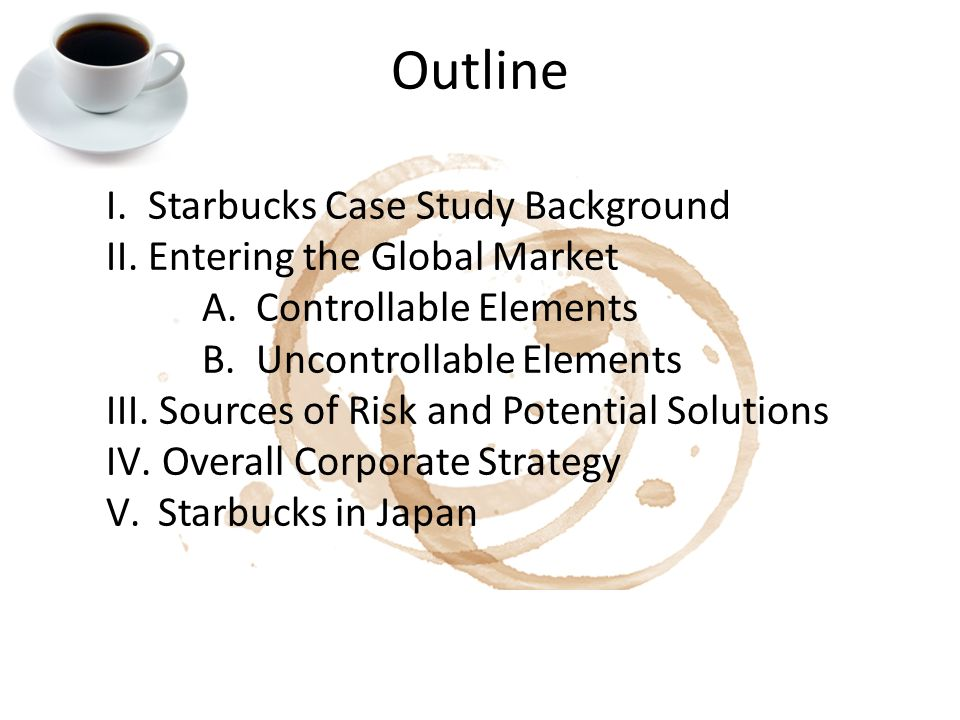 starbucks going global fast 2 essay Read case 1-1: starbucks–going global fast, then address the following questions starbucks going global  cheap custom essay writing services.