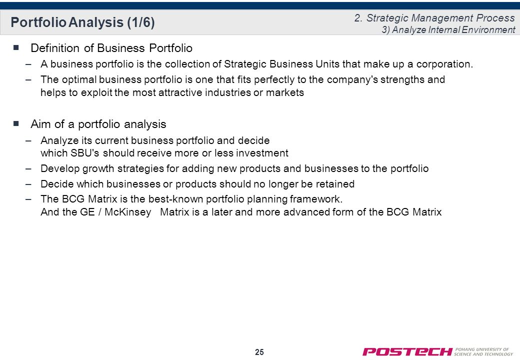 internal environment analysis in strategic management pdf