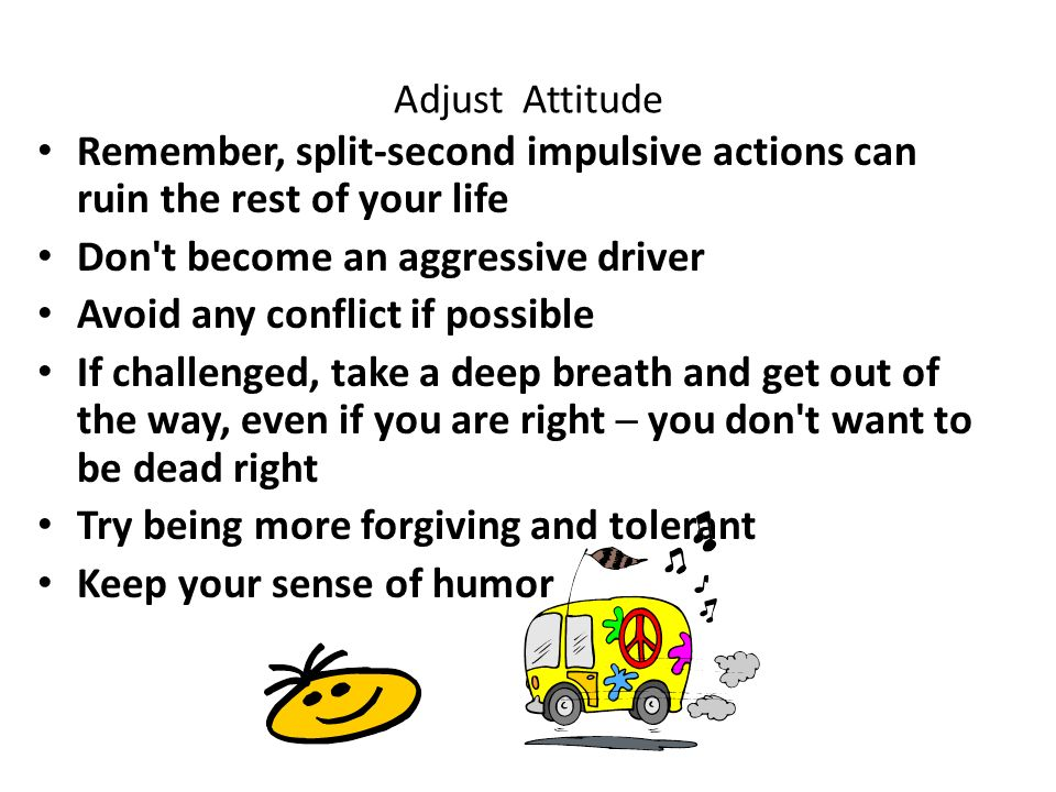 an argument that aggressive driving can be avoided You may be tempted to argue with an aggressive driver if you have gotten in an accident as a result of his or her actions after an accident involving another driver's aggressive conduct, you should contact the police so that a report can be taken and you have an opportunity to note on the record the other driver's negligent.