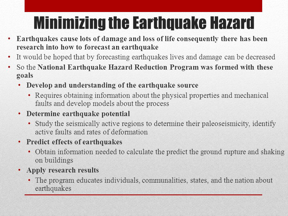 Earthquakes Chapter ppt download