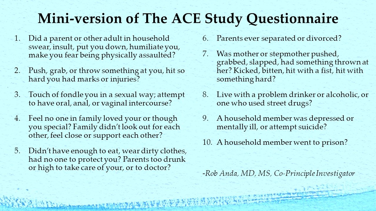 Take The ACE Quiz — And Learn What It Does And Doesn't ...