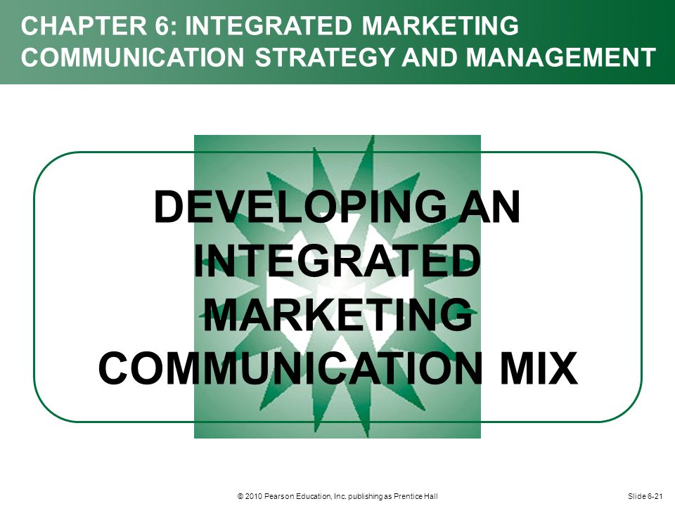 chapter 8 integrated marketing communications Of this chapter is to see imc as an approach that is used to operationalise the  a  more recent definition is proposed by duncan (2002: 8), in which the.