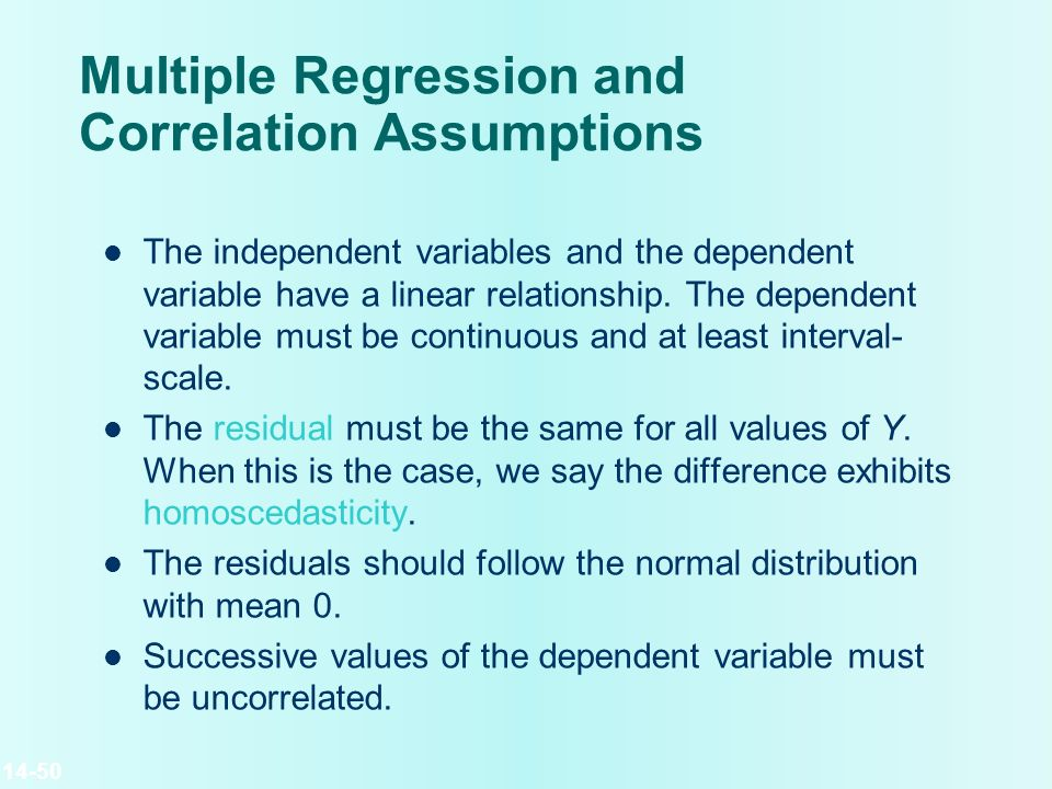 linear regression and correlation pdf